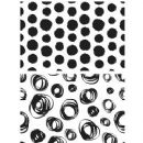 CMS382 Stampers Anonymous Tim Holtz Cling Mounted Stamp Set - Dots & Circles